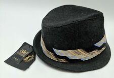 "Goorin Bros Toffee Fedora Hat in Grey Unisex Size X-Large 24"" 100-1994"