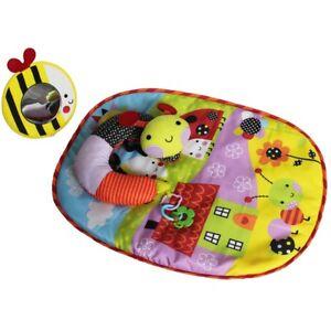 Red Kite Baby Mat Play Tummy Time Pillow Unisex Garden Gang