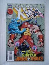X-MEN UNCANNY #322 MARVEL COMIC ONSLAUGHT CAMEO FEBRUARY 1995