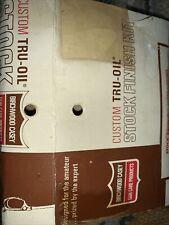 Vintage Bircheood Casey Custom Tru-oil Stock Finish Kit