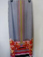 ECI New York Long Maxi Skirt SIZE S floral/ geometric