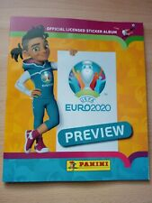 Panini UEFA Euro 2020 Preview 528 stickers version empty album + 5 packets