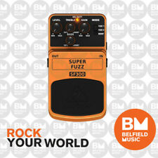 Behringer SF300 Super Fuzz Effects FX Pedal SF-300 - Brand New - Belfield Music