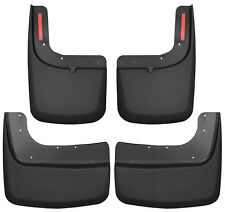 HUSKY Mud Guards Front &  Rear Flaps for 17-20 FORD F350 DUALLY w/ Fender Flares