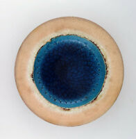 Kähler, Denmark, glazed stoneware dish 1960s. Designed by Nils Kähler.