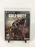 Call of Duty: Advanced Warfare -- Day Zero Edition (PlayStation 3 PS3, 2014)