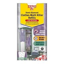 Moth Killer  Chemical Free Zero in Demi Diamond Refils