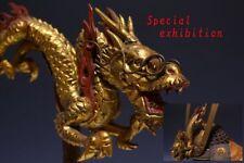 Japan Antique Edo Dragon maetate Kabuto yoroi koshirae Armor tsuba Busho samurai