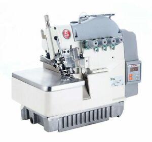 Singer Industrial 5 thread overlock saftey stitch sewing machine
