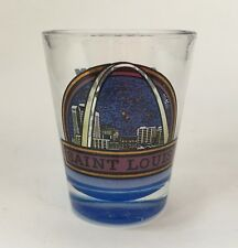 St. Louis Missouri Arch Landmark Shot Glass Travel Souvenir Barware