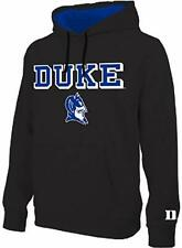 DUKE BLUE DEVILS NCAA E5  BLACK MEN'S HOODIE SMALL