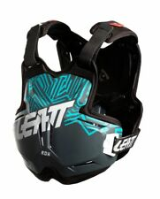 2018 LEATT 2.5 CHEST PROTECTOR ROX GREY TEAL ADULT ROOST MOTOCROSS ARMOUR BMX