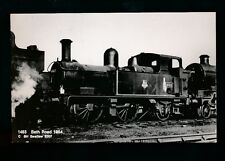 Railway Somerset BATH railway Road tank loco #1463 1954 RP PPC