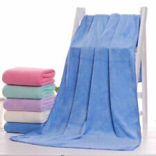 Large Microfiber Hand Bath soft thick Towels Gym Beach Yoga Swim cover blankets