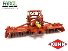 Repliagri Kuhn HR404 Power Harrow 1:32 Scale Die Cast Metal Model Toy