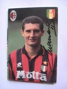 Autogramm Daniele Massaro (AC Mailand) Milan