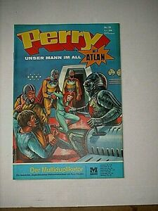 PERRY, unser Mann im All  Nr. 36 - Der Multiplikator  (Moewig 1968-75)