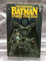 THE GREATEST BATMAN STORIES EVER TOLD - DC TPB