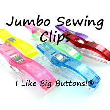 JUMBO Sewing Clips 24 Pcs Mini Quilting Clips/Binding Clips/Knitting/Crocheting