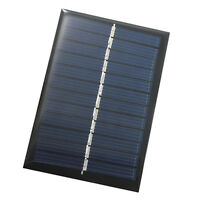 10x(Solar Panel Module For Battery Cell Phone Charger DIY Model:90X60mm 6V E1W2