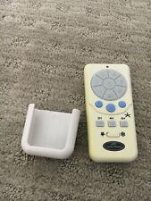 Harbor Breeze Ceiling Fan/Light Remote Control Model A25-TX012 w/battery & case