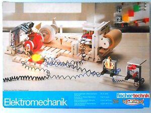 Fischertechnik Elektromechanik, Complete # Boxed #30226
