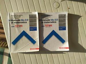 MANUALE BLU 2.0 DI MATEMATICA CONFEZIONE VOL.3 -2a EDIZ.- BERGAMINI - ZANICHELLI