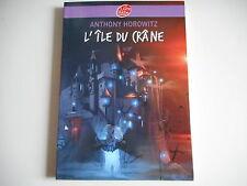LIVRE DE POCHE - L'ILE DU CRANE - ANTHONY HOROWITZ