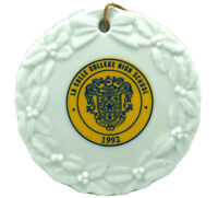La Salle College High School 1992 Christmas Ornament Wyndmoor Philadelphia PA