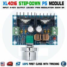 XL4016 DC Buck Converter 8A 200W 4V-40V 1.25-36V Step-Down Voltage Power Module
