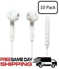 10x Handsfree New Earbuds Earphones Headphone Fit Samsung Galaxy S7 S8 Edge Note