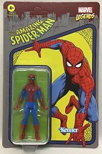 "Marvel Legends Retro 375 Collection The Amazing Spiderman 3 3/4"" New Hasbro 2021"