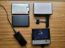 OQO Model 2 w/ Extra batteries, case, connectors - Mini Comp PC - Tested Works