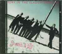 """FURY IN THE SLAUGHTERHOUSE """"Seconds To Fall"""" CD-Album"""