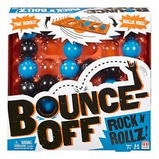 Mattel Bounce Off Rock N' Rollz Game. Ages 7+. 2-4 Players. Fun Family Game!