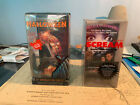 Halloween VHS Snow Globe Set and Scream VHS Collector's Phone Card set 1998