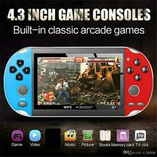 😜X7 Video Game Player 4.3 inch for GBA Handheld Game Console Retro Games MQ12😜