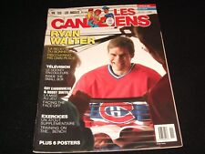 LES CANADIENS  °  JAN./FEV.  1988  <> RYAN WALTER