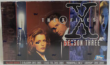 THE X-FILES : SEASON THREE TRADING CARDS - SEALED BOX MADE BY TOPPS IN 1996