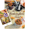 The HERBCRAFTERS TAROT DECK & BOOK Boxed SET Wiccan Green Kitchen Garden Witch