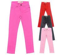 Girls Kids Slim Skinny Denim Jeans Trousers Pants Age 2 - 10 Joe Fresh Pink Grey