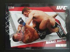 Topps ufc 2010 Series 4 Michael Bisping