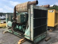 Used Detroit 12V149TT-830KW .Diesel Generator. 1800RPM. Complete and Run Tested.