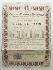 Action ancienne : caisse de l economie nationale ( 406 )