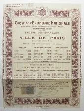 Action ancienne : caisse de l economie nationale ( 406 )