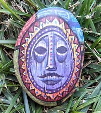 """Rock""in the Tiki by Dave Avanzino OOAK Disney Signed Hand-painted CHOC COA"