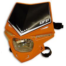 Ufo Lampenmaske Scheinwerfer Stealth universal e-geprüft orange