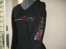 Baltimore Grand Prix Ladies Inaugural rhinestone hoodie Large, 2011 Indy Racing