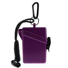 Witz Dry Box Keep it Safe Locker ID Scuba Diving Gear Bag NEW Purple