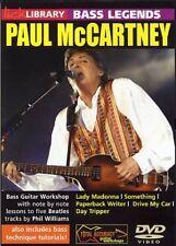 LICK LIBRARY BASS GUITAR LEGENDS PAUL MCCARTNEY DVD RDR0056 BEATLES LEARN 2 PLAY